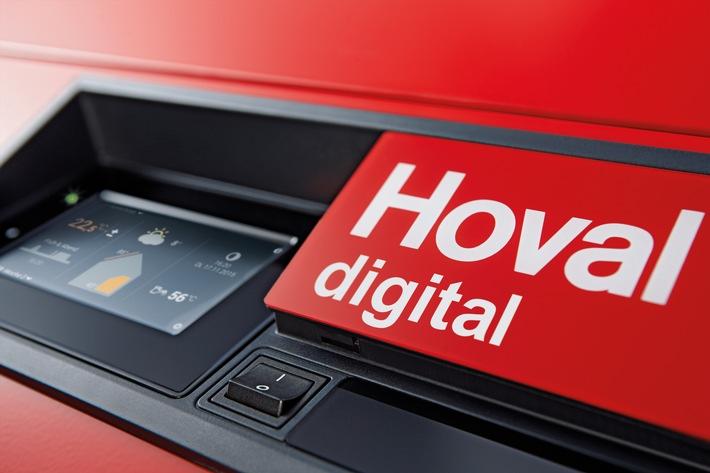 """Hoval Digital. Weiterer Text über ots und www.presseportal.de/nr/111291 / Die Verwendung dieses Bildes ist für redaktionelle Zwecke honorarfrei. Veröffentlichung bitte unter Quellenangabe: """"obs/Hoval GmbH"""""""