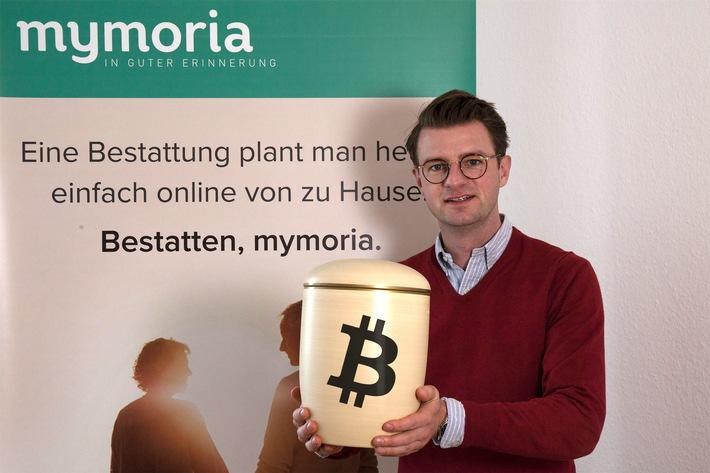 Mit Bitcoins die Bestattung bezahlen