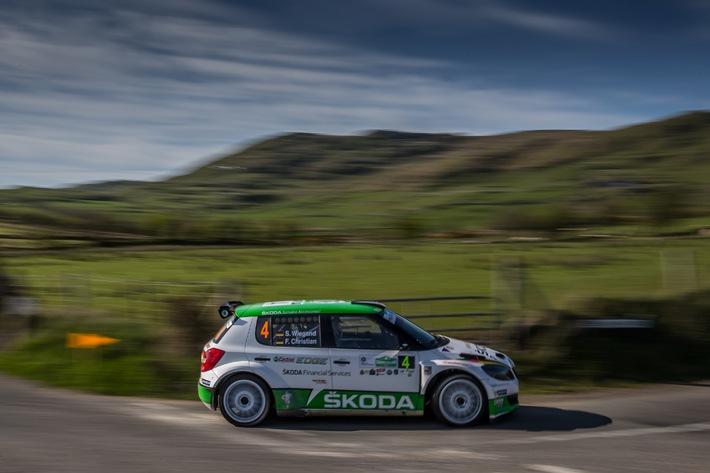 """Frohe Ostern: SKODA feiert Doppelsieg bei  der """"Circuit of Ireland Rally"""""""