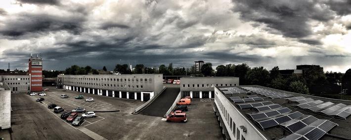 FW-E: Gewitter verursacht in Essen 50 Einsätze