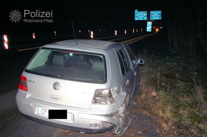 POL-PDKL: Verkehrsunfall auf der BAB 6 an Silvester - Zeugen gesucht