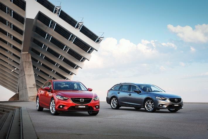 Der neue Mazda6: Kombi und Limousine zum gleichen Preis (BILD)