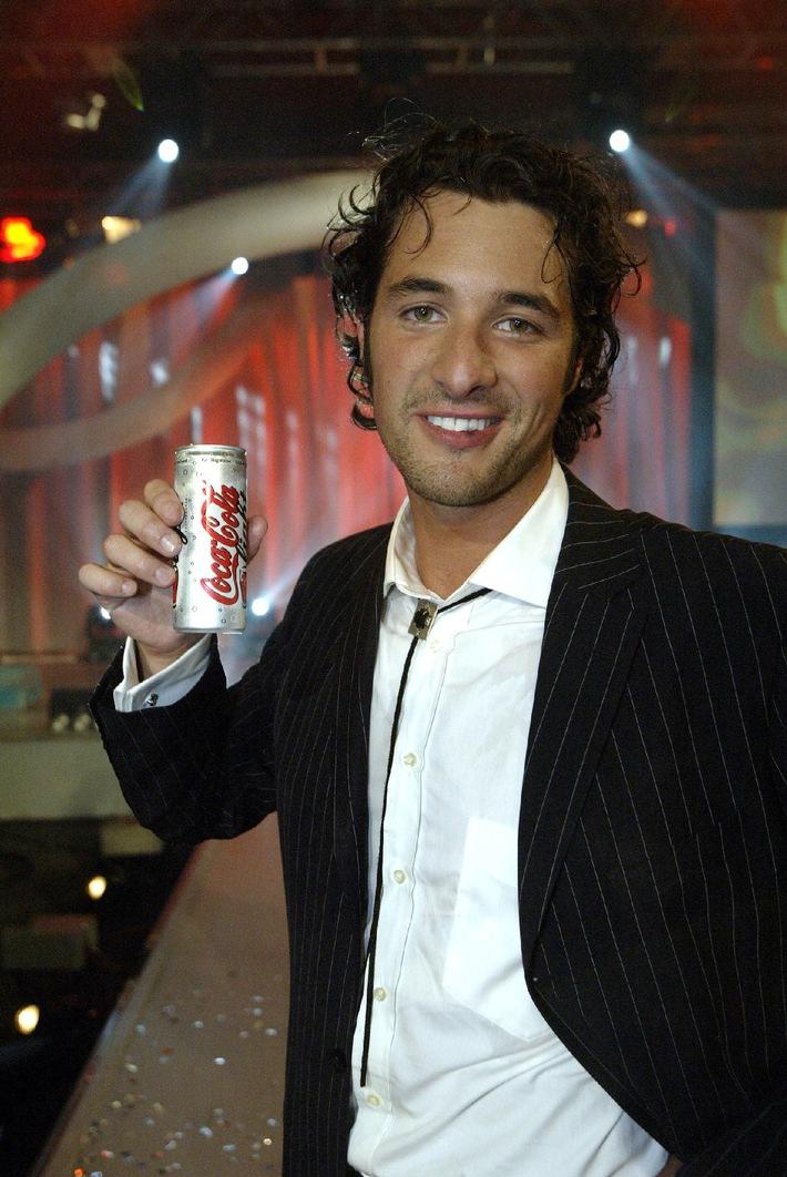 """Sperrfrist: Nick Karry gewinnt internationale """"Coke light Mann""""-Wahl"""