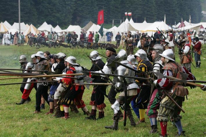 Ritterspiele Ehrenberg - eine erfolgreiche Zeitreise durch die Geschichte in der Tiroler Naturparkregion Reutte - BILD