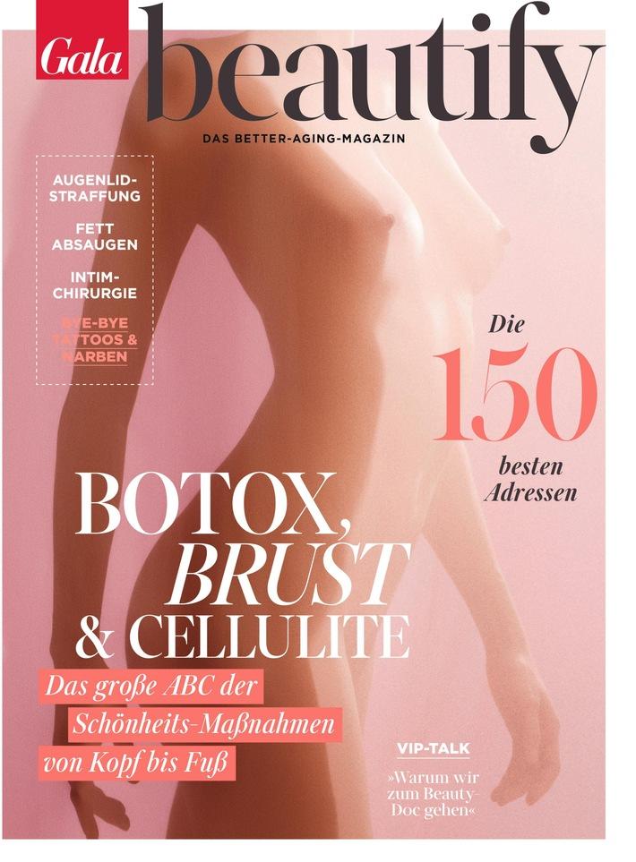 Cover GALA BEAUTIFY (EVT 15.03.2018) Weiterer Text über ots und www.presseportal.de/nr/6106 / Die Verwendung dieses Bildes ...