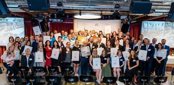 BILD zu OTS - Auszeichnung der Top-Recruiter der Schweiz und Liechtensteins 2017/18