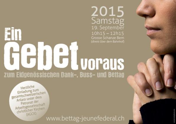 Schweizer Kirchen treten vor dem Eidg. Dank-, Buss- und Bettag gemeinsam auf
