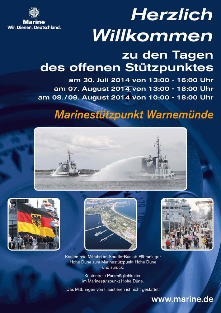 Hanse Sail 2014: Marine zum Anfassen