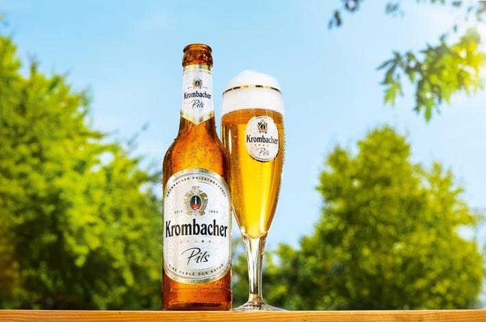 krombacher pils ist weiterhin die beliebteste biermarke deutschlands pressemitteilung. Black Bedroom Furniture Sets. Home Design Ideas