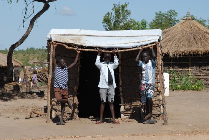 World Vision: Flüchtlinge in Uganda