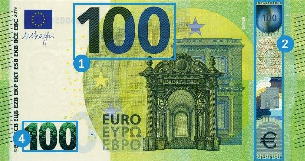 Hundert Euro-Schein