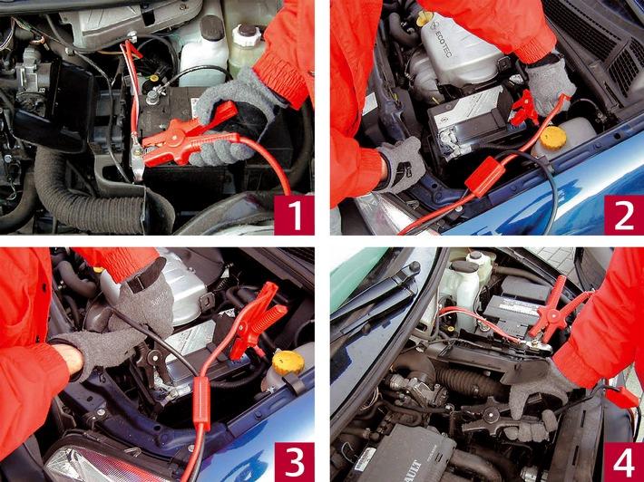 Wenn die Autobatterie streikt: So geben Sie richtig Starthilfe