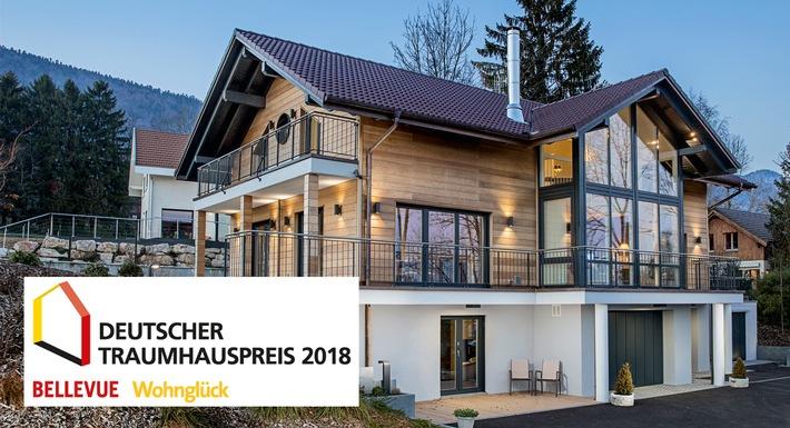 """Das Gewinnerhaus in der Kategorie """"Landhäuser"""" kommt von WeberHaus."""