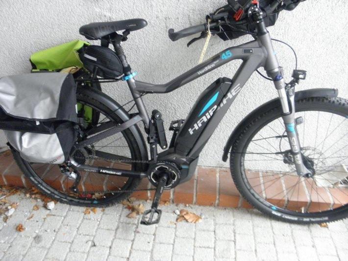 Der Eigentümer des abgebildeten E-Bikes