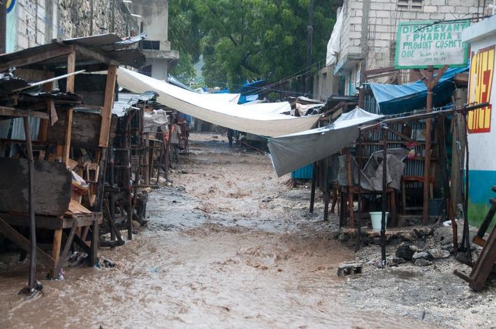 """Hurrikan Matthew in Haiti - """"Die Katastrophe ist noch nicht vorbei"""""""