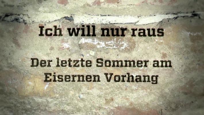 """""""Geschichte treffen"""": Wolf-Christian Ulrich erkundet in ZDFinfo den """"letzten Sommer am Eisernen Vorhang"""""""