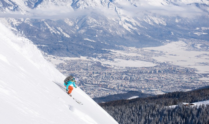 Freeride City Innsbruck: City-Feeling meets Powder-Spots - BILD
