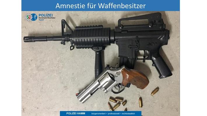 Amnestie für Waffenbesitzer