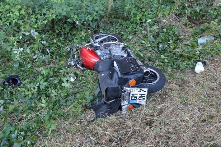 POL-PDMT: Verkehrsunfall mit Sachschaden auf der L 265 ***Zeugen gesucht***