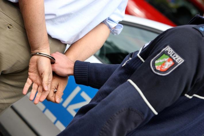 Symbolbild: Die Polizei hat gestern zwei Tatverdächtige festgenommen.