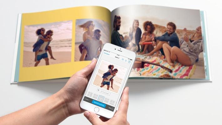 """Die Pixum App: Der schnellste Weg zum Pixum Fotobuch. Weiterer Text über ots und www.presseportal.de/nr/24663 / Die Verwendung dieses Bildes ist für redaktionelle Zwecke honorarfrei. Veröffentlichung bitte unter Quellenangabe: """"obs/Pixum/(c) Pixum"""""""