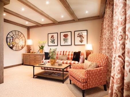 Modern Living: die neuen Superior Doppelzimmer schaffen Raum für Entspannung und genügend Rückzugsmöglichkeiten und Privatsphäre für grössere Familien.