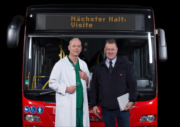 Da vorne sitzt ein Mensch: Forscher der Hochschule Fresenius legen Studie zum Image von Busfahrern vor