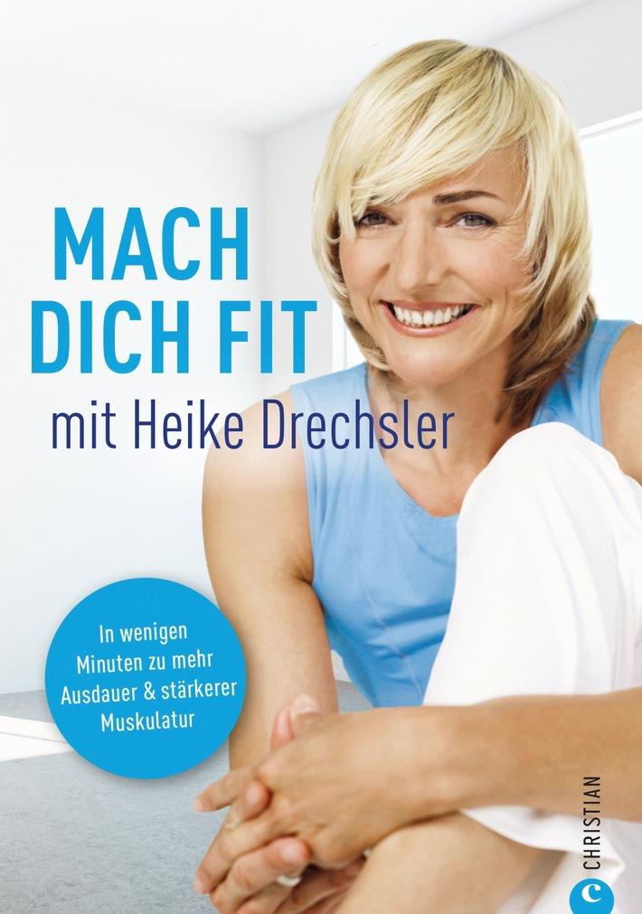 """Olympiasiegerin Heike Drechsler stellt am 17.3. ihr Buch """"Mach dich fit"""" auf der Leipziger Buchmesse vor"""