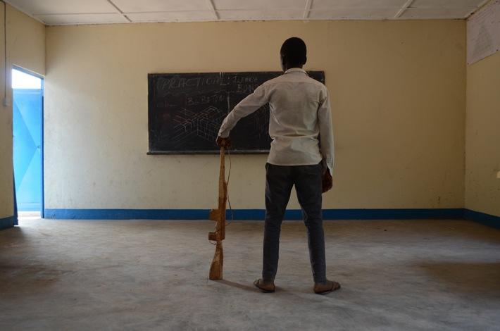 World Vision Südsudan: freigelassener Kindersoldat
