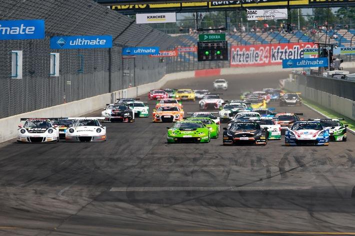 Corvette-Doppelsieg im ADAC GT Masters beim Motorsport Festival Lausitzring
