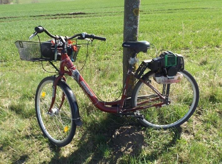 Fahrrad mit Motor