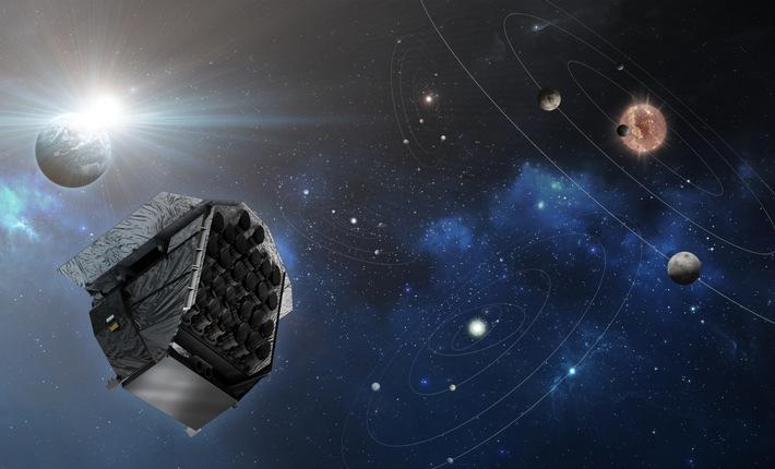 OHB war erste Wahl für die ESA bei der Vergabe des Wissenschaftssatelliten PLATO  (artist's impression © OHB System AG)