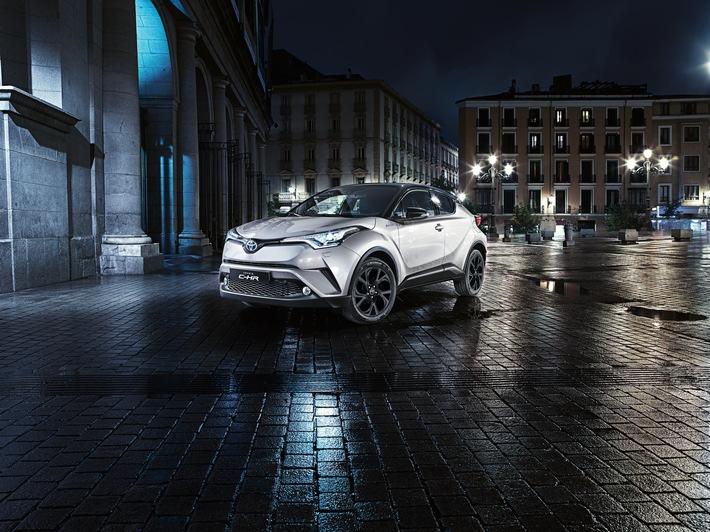 Toyota C-HR als Sonderedtion ab 16.9.2016 im Online-Verkauf