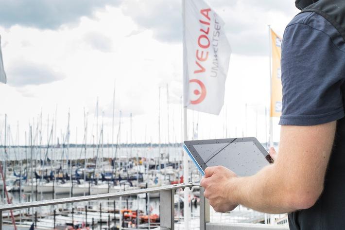 Europapremiere: Publikum der Kieler Woche segelt per LTE live bei Regatta mit