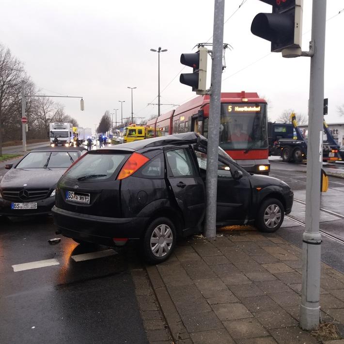 Unfall am Dienstagmorgen