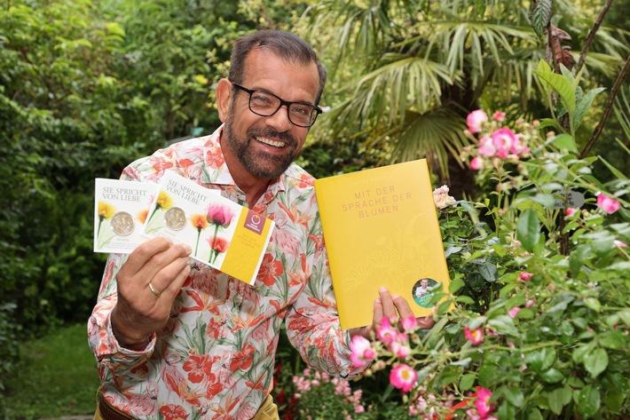 BILD zu OTS - Karl Ploberger beherrscht sie fließend und empfiehlt die Sprache der Blumen
