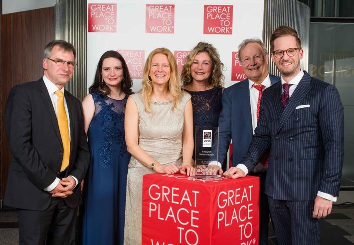 Wieder auf dem Sieger-Treppchen: Pascoe erneut unter den besten Arbeitgebern in Deutschland