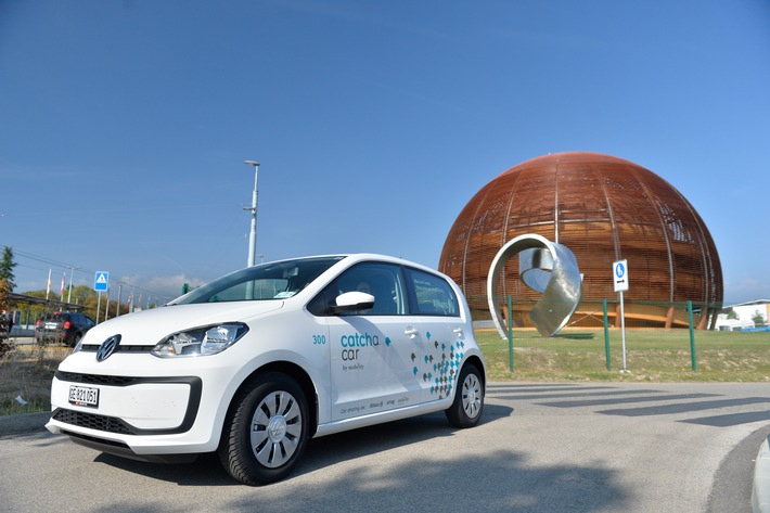 """Catch a Car spannt mit CERN zusammen / Weiterer Text über ots und www.presseportal.ch/de/nr/100056349 / Die Verwendung dieses Bildes ist für redaktionelle Zwecke honorarfrei. Veröffentlichung bitte unter Quellenangabe: """"obs/Catch a Car AG"""""""