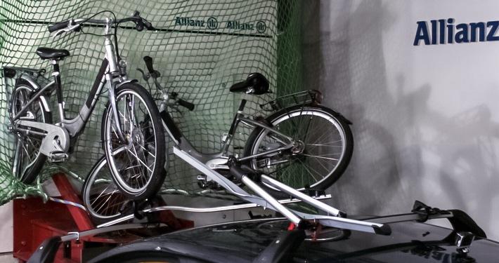 Allianz Suisse: rischi nel trasporto di bici elettriche