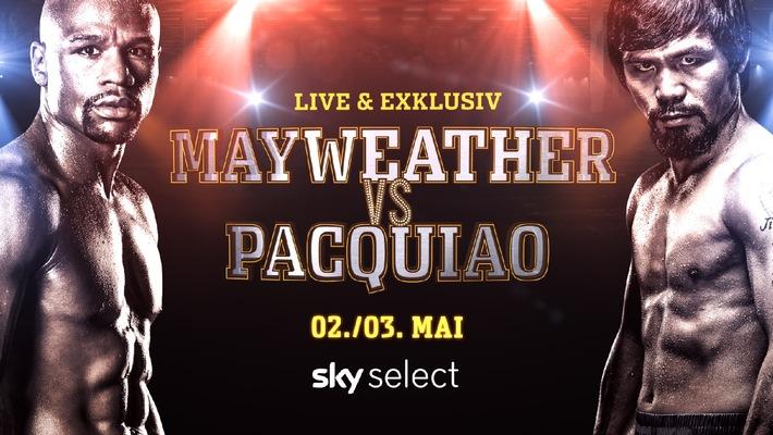 Mayweather vs. Pacquiao - Das Sportereignis des Jahres live und exklusiv bei Sky