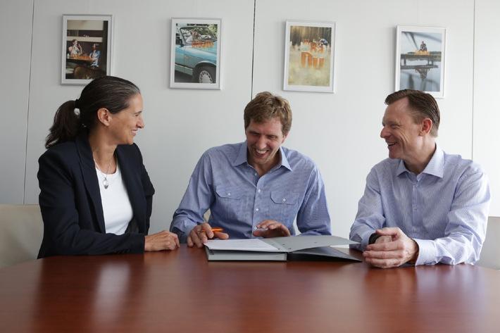 ING-DiBa und Dirk Nowitzki setzen erfolgreiche Zusammenarbeit fort