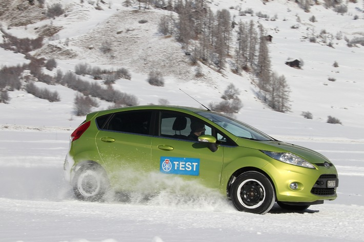 Test del TCS sugli pneumatici invernali: convincono i produttori affermati