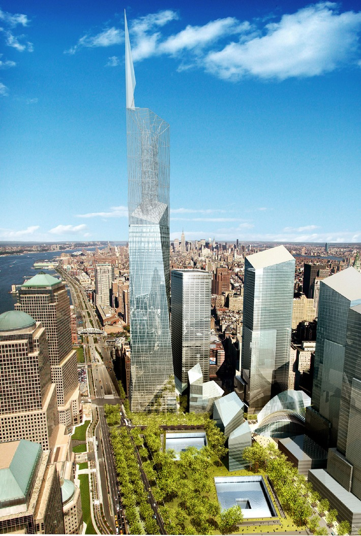 Swissbau 05: 'Ground Zero - Visions et projets pour le nouveau World Trade Center