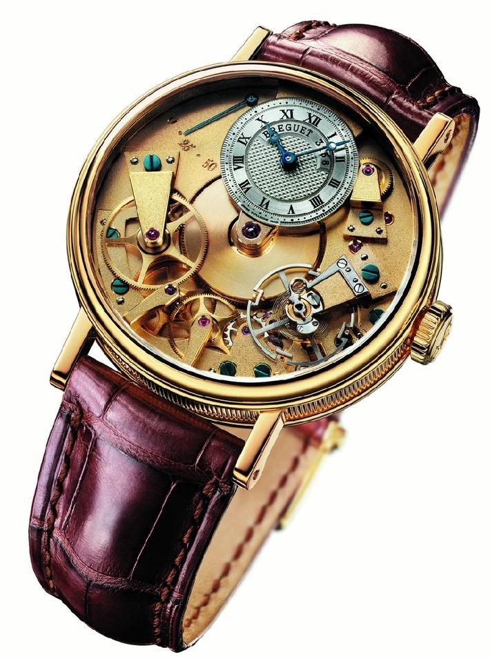 """Modell """"La Tradition"""" von BREGUET - Die Uhr des Jahres 2005"""