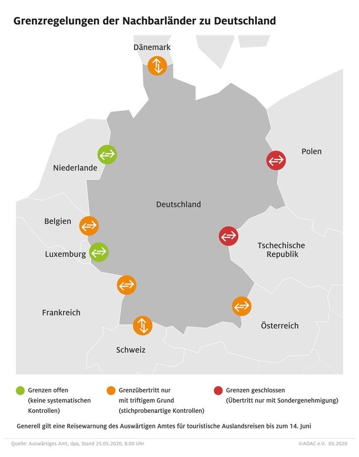 Reiseverkehr nimmt an Pfingsten Fahrt auf / ADAC Stauprognose für 29. Mai bis 1. Juni (FOTO)