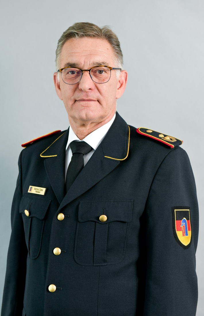 Hartmut Ziebs, Präsident des DFV. Bildquelle: Deutscher Feuerwehrverband