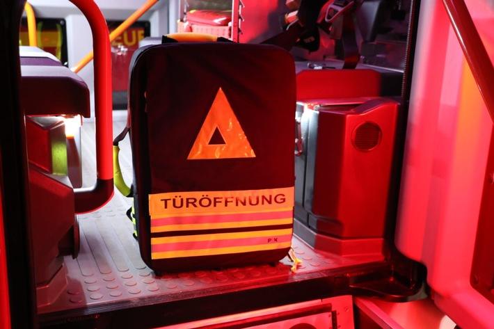 FFW Schiffdorf: Türnotöffnung entpuppt sich als Fehlalarm