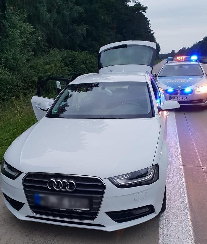 Gestohlener Audi