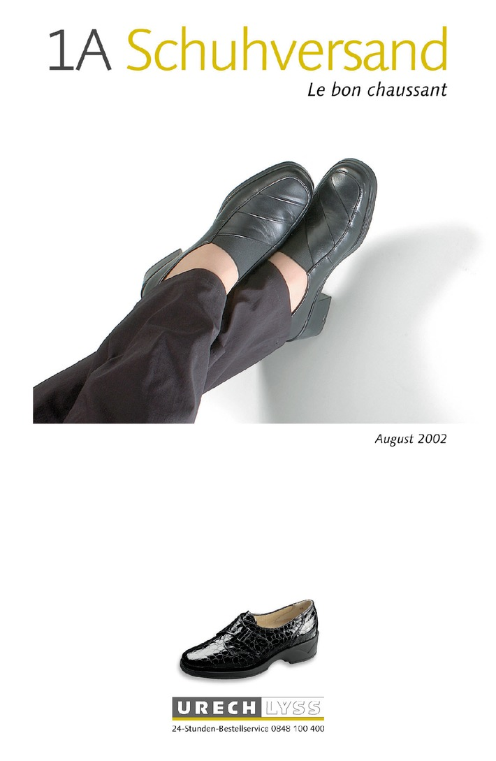 "Urech Lyss AG lanciert 1A Schuhversand: ""Le bon chaussant"" - Schuhe, die passen"