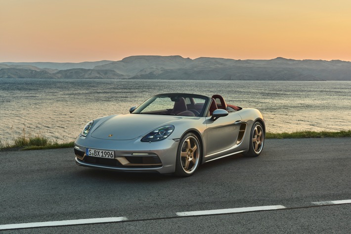 Porsche honors the concept & quot;  Boxster & quot;  from 1993 / New anniversary model in limited edition: the Boxster 25 Years Edition